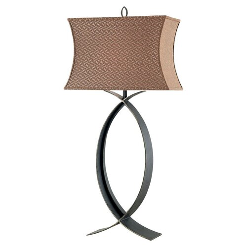 """Wildon Home ® Pisces Costa 32"""" H Table Lamp with Rectangle Shade"""