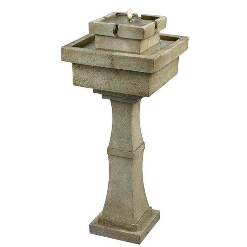 Wildon Home ® Cadet Outdoor Solar Floor Fountain