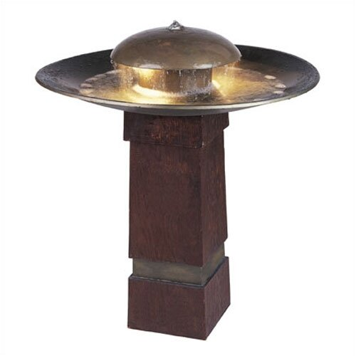 Wildon Home ® Copper Portland Sound Floor Fountain