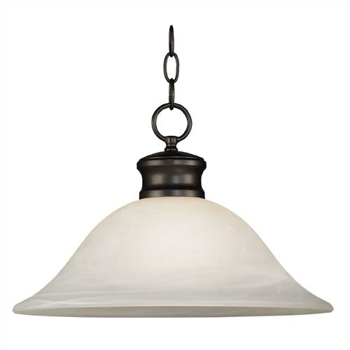 Wildon Home ® Bryant 1 Light Downlight Pendant