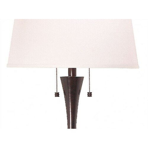 Wildon Home ® Rowena Table lamp and Floor Lamp Set