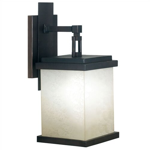 Wildon Home ® Utah Outdoor Large Wall Lantern