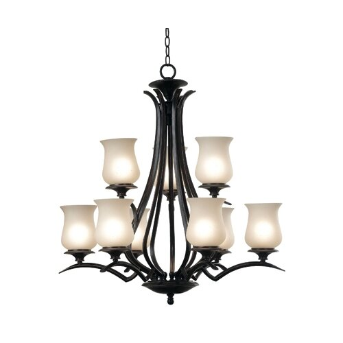 Wildon Home ® Bienville 9 Light Chandelier