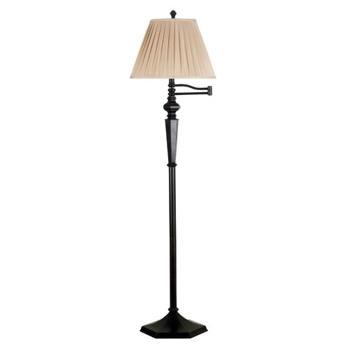 Wildon Home ® Chesapeake Swing Arm Floor Lamp