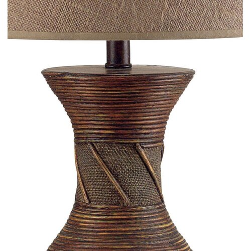 """Wildon Home ® Santiago 30.5"""" H Table Lamp with Empire Shade"""