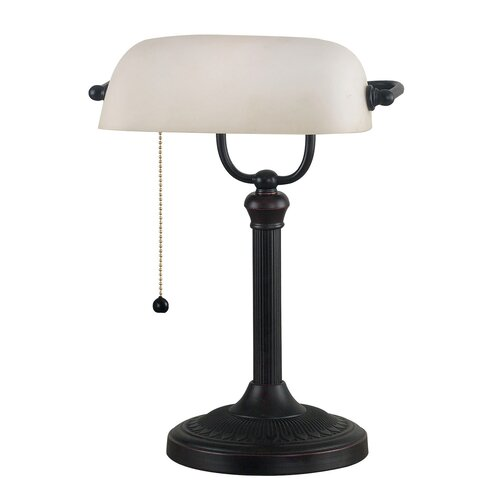 Wildon Home ® Amherst Bankers Table Lamp