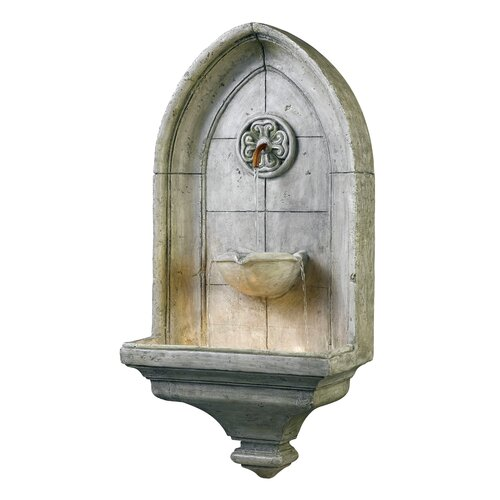 Wildon Home ® Canterbury Resin Wall Fountain