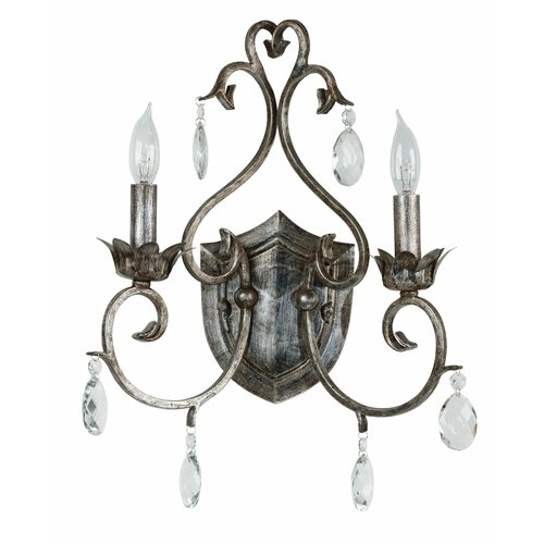Wildon Home ® Antoinette 2 Light Wall Sconce
