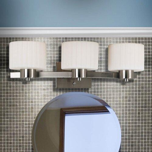 Wildon Home ® Newport 3 Light Vanity Light