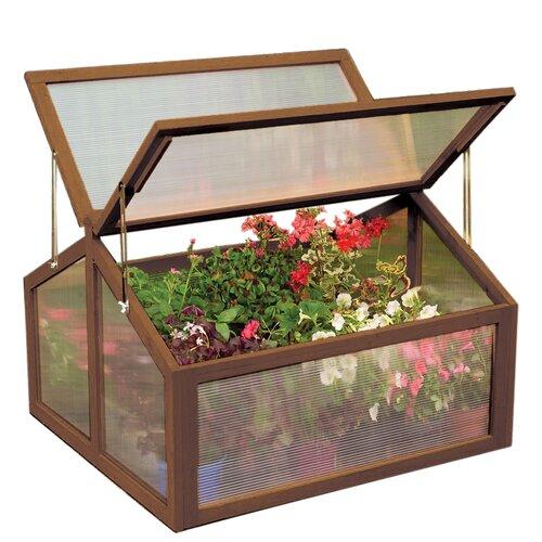 """Gardman 35"""" W x 67"""" D Polycarbonate Cold Frame Greenhouse"""
