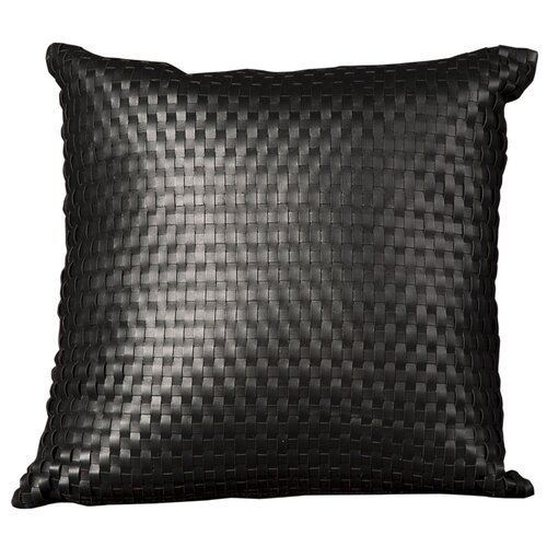 Nourison Natural Leather and Hide Pillow