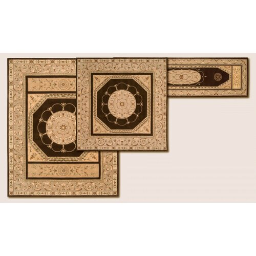 Nourison Versaille Palace Brown Rug