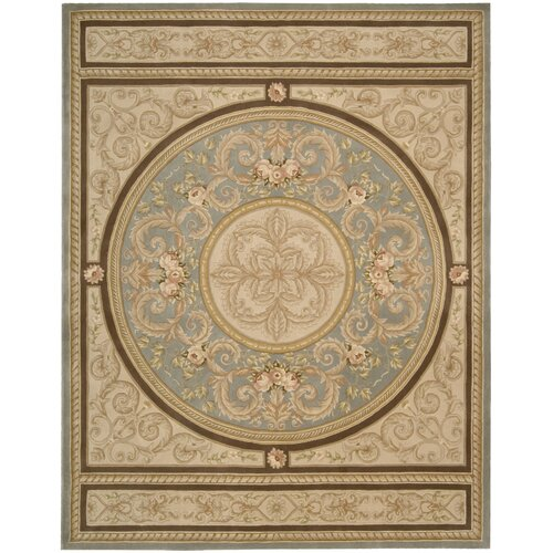 Versaille Palace Blue Rug