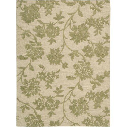 Skyland Ivory/Green Rug