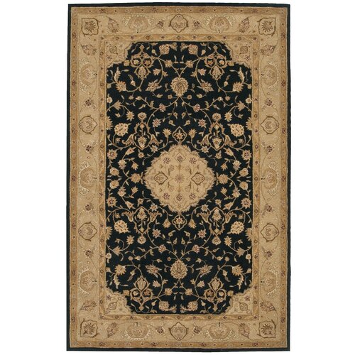 Safavieh heritage red black floral area rug reviews for Red floral area rug