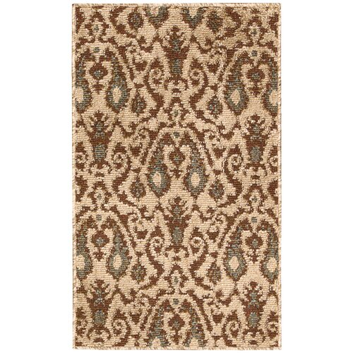 Kindred Ivory/Brown Outdoor Rug