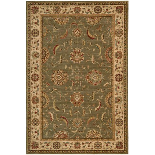 Living Treasures Green Rug