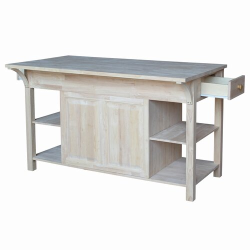 Unfinished Furniture Kitchen Island Bradley Brand
