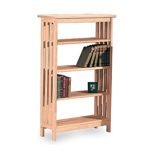 "International Concepts Unfinished Wood Mission 48"" Bookcase"
