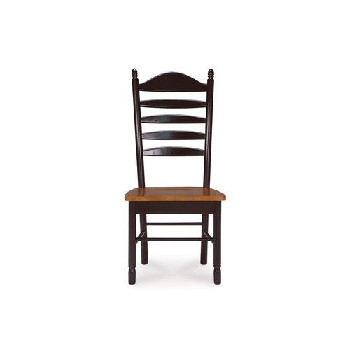 International Concepts Madison Park Ladderback Side Chair (Set of 2)