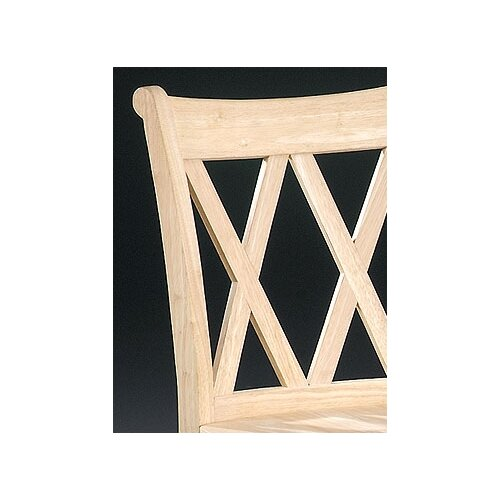 "International Concepts Unfinished Wood 24"" Bar Stool"