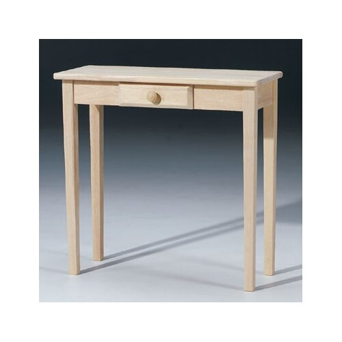 Rectangular Hall Console Table
