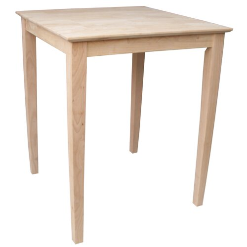 International Concepts Shaker Counter Height Pub Table