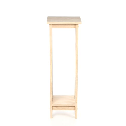 International Concepts Unfinished Wood Plant Stand