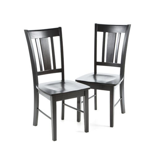 International Concepts San Remo Slat Back Side Chair (Set of 2)