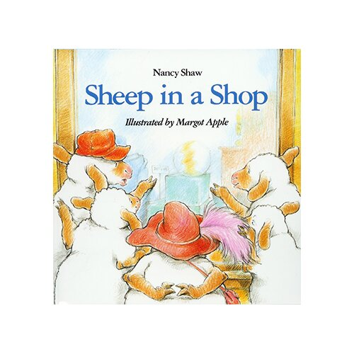 Houghton Mifflin Carry Along Book & Cd Sheep In a
