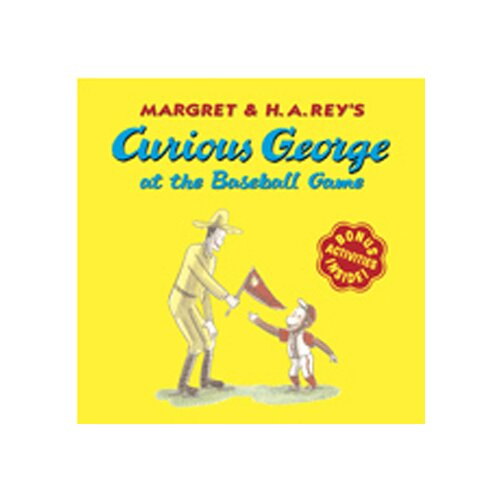 Houghton Mifflin Curious George At The Baseball Game