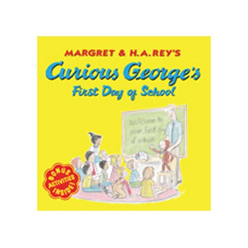 Houghton Mifflin Curious George First Day Of School