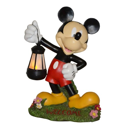Disney Mickey Mouse Holding Lantern Statue