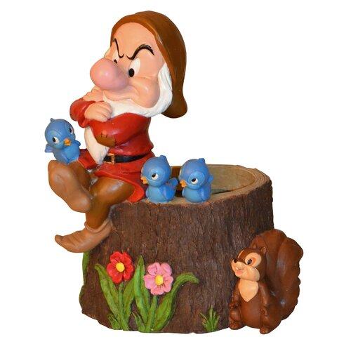 Disney Grumpy Stump Planter