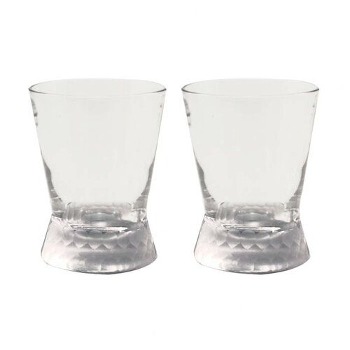 Artland Prescott Double Old Fashioned Glass in Frost