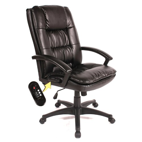 Comfort Products High Back Leather Massage Executive Chair