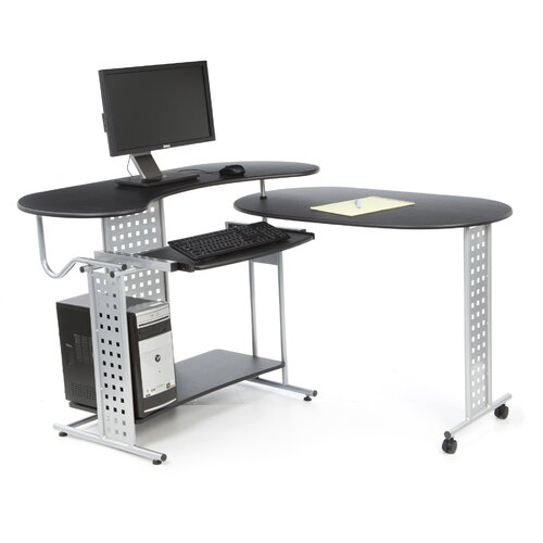 Comfort Products Regallo Expandable 'L' Computer Desk