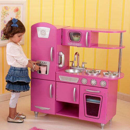 KidKraft Bubblegum Vintage Kitchen