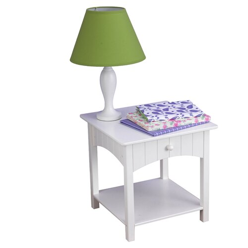 KidKraft Nantucket 1 Drawer Nightstand