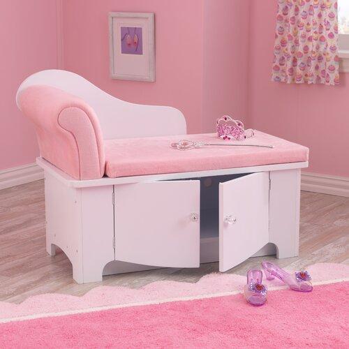 KidKraft Princess Chaise Lounge & Reviews
