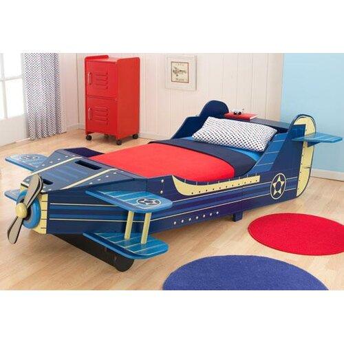 KidKraft Airplane Convertible Toddler Bed Amp Reviews