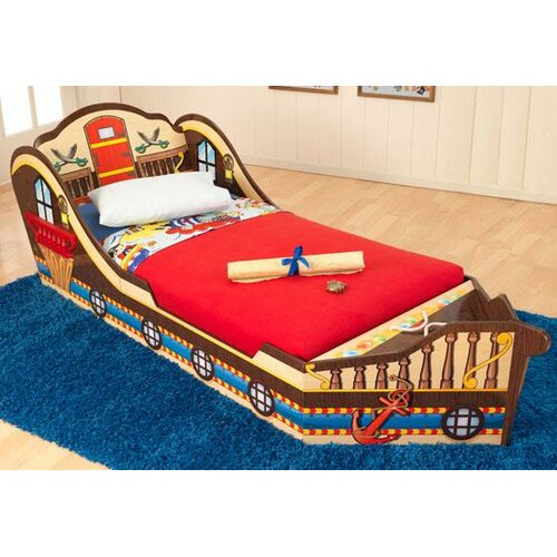 Pirate Convertible Toddler Bed