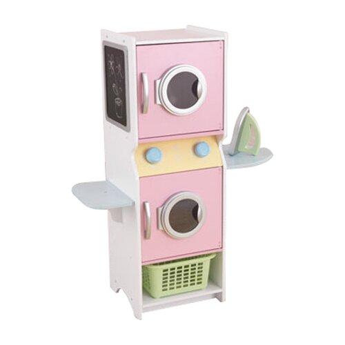 Kidkraft Pastel Kitchen Set Washer And Dryer Pastel