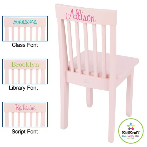 KidKraft Personalized Avalon Chair
