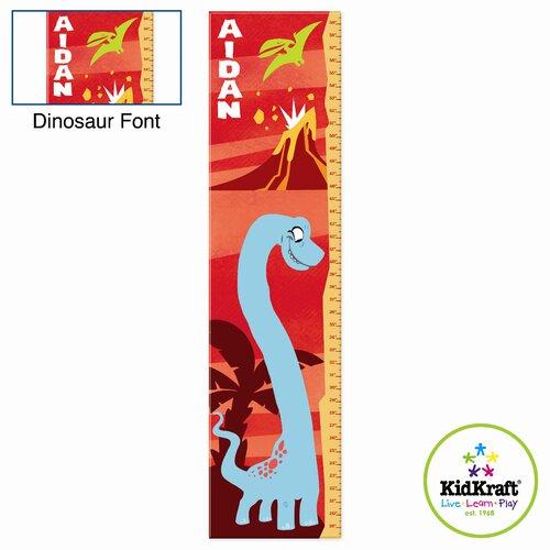KidKraft Personalized Dinosaur Growth Chart