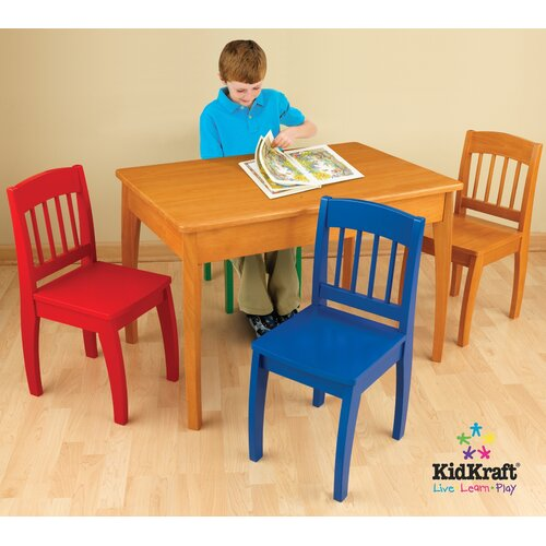 Euro Honey Kids' 5 Piece Table and Chair Set