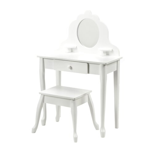 KidKraft Medium Diva Vanity Set with Mirror