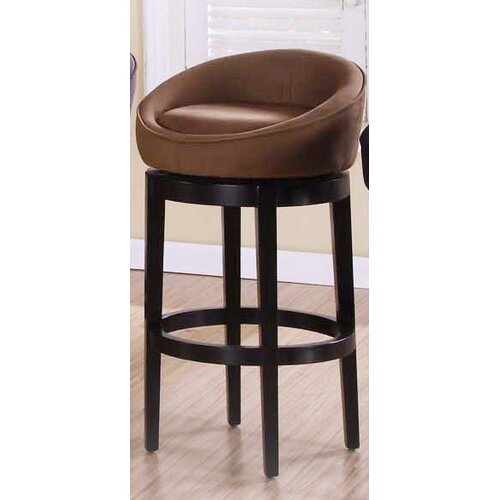 "Armen Living Igloo 30"" Swivel Barstool in"