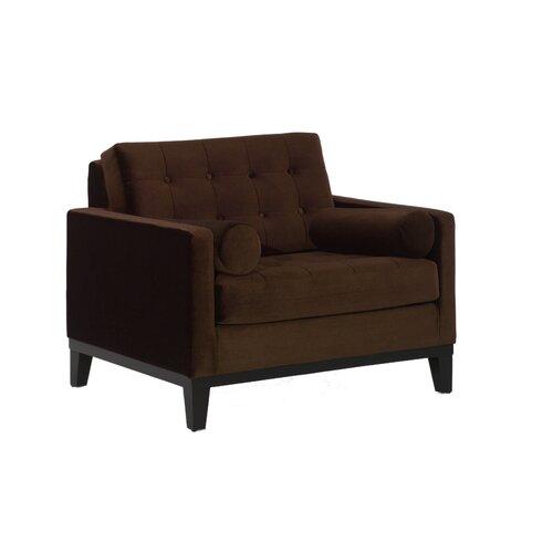 Armen Living Centennial Velvet Chair