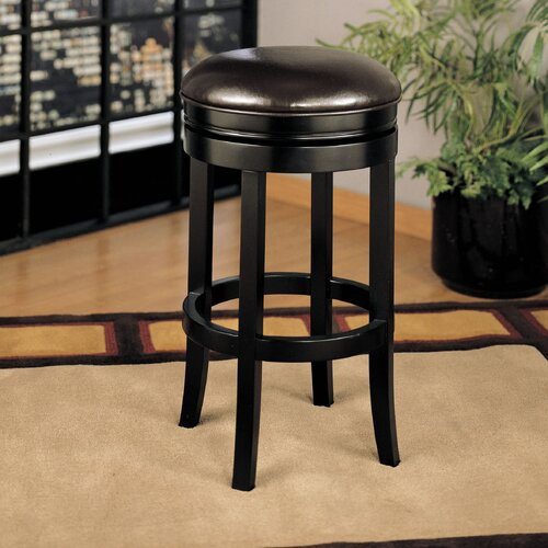 "Armen Living Backless 30"" Swivel Barstool"